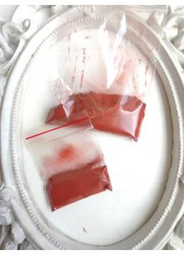 Натурална боя за тъкани и прежда - Железен оксид Керемидено червено (теракота)