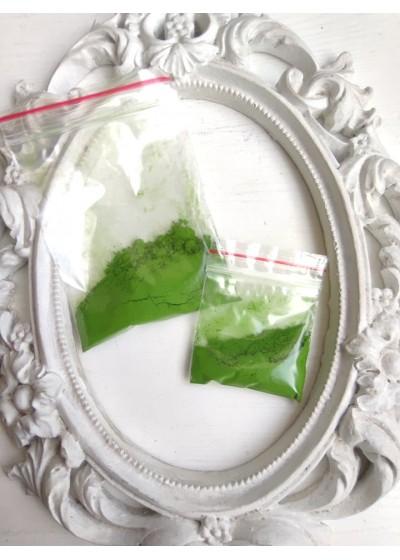 Натурален минерален пигмент - Железен оксид в зелено - Тревисто зелено