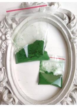 Натурален пигмент за козметика - Железен оксид в Зелено